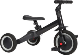 loopfiets 4 in 1 driewieler kaya | antraciet