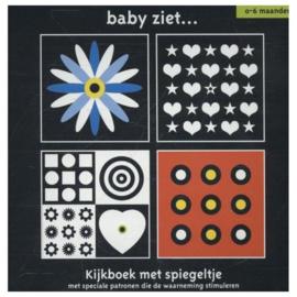 Baby ziet | kijkboek met spiegeltje