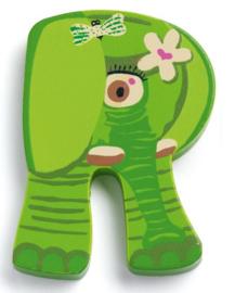 Djeco alfabet dieren | letter R