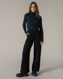 TILTIL suitpants 'Sanne' wide leg zwart