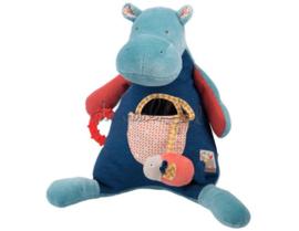 Moulin Roty babyspeeltje | les papoums nijlpaard activiteiten knuffel