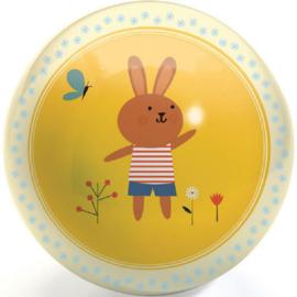 Djeco bal | Poes en konijntje 12 cm