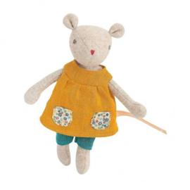 Moulin Roty knuffelpop | famille mirabelle muisje Groseille