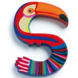 Djeco alfabet dieren | letter S