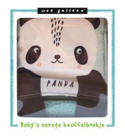 Wee Gallery  stoffen boekje Panda | stof