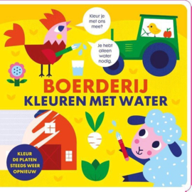 Image books | boerderij kleuren met water