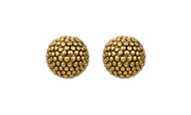Camps & Camps  gold plated globe studs
