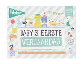 milestone® baby's eerste momenten   1e verjaardag