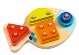 Djeco puzzel | vormenspel 1234 Bloop
