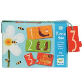 Djeco duo puzzel | cijfers