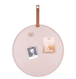 present time | memobord 'Perky' roze