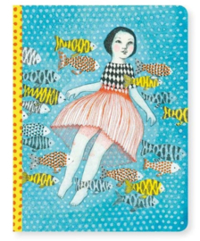 Djeco lovely paper   schrift A5 Elodie