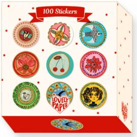 Djeco stickers | Aurelia 100 st