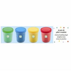 Djeco Boetseerklei 4 kleuren | primair