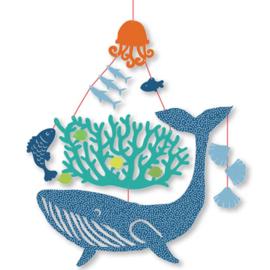 Djeco Mobiel | walvis in de zee