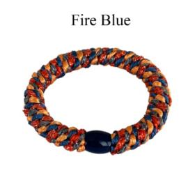 black colour elastiek | Kally elastic Fire Blue
