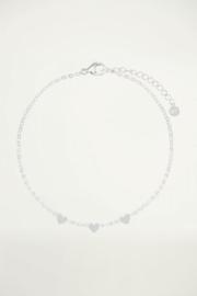 My Jewellery | armband drie hartjes zilver