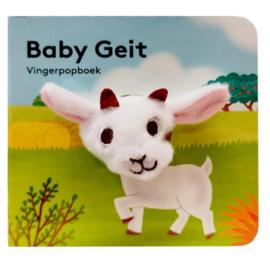 Baby geit | vingerpopboekje karton