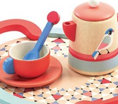 Djeco houten serviesje | teatime