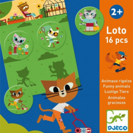 Djeco spel | lotto dieren