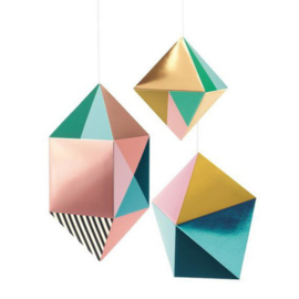 Djeco knutselen | hangende geometrische vormen