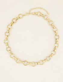My Jewellery   armbandje chunky chain schakel goud