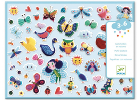 Djeco stickers   puffy stickers vleugels