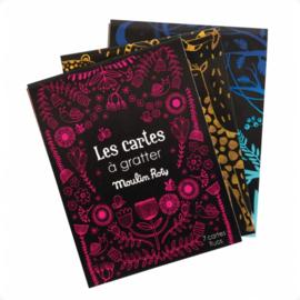Moulin Roty knutselen | Kraskaarten Les cartes á gratter roze