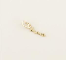 My Jewellery | Bedel 'brave' goud