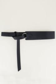 My Jewellery | tailleriem met knoop zwart