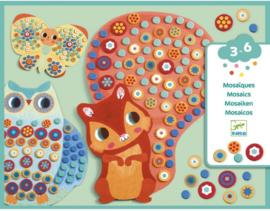 Djeco knutselen | mozaïek dieren millefiori