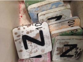 cottoncounts houten letter   Scrabble letter z