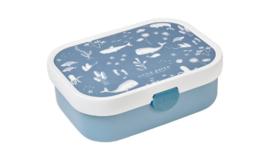 Mepal lunchbox little dutch   blauw walvis