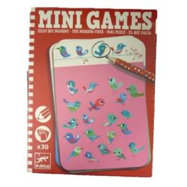 Djeco Mini games | Wat ontbreekt