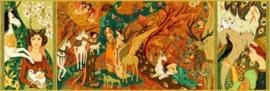 Djeco puzzel | de fee en de eenhoorn (500 st)