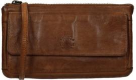 Bear Design clutch/portemonne 'Romy' | cognac