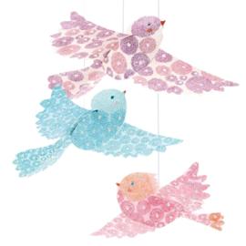 Djeco knutselen | hangende vogels