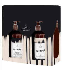 The Gift Label | Gift Box Je t'aime, for him