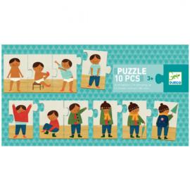 Djeco puzzel | aankleden