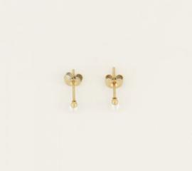 My Jewellery | oorbellen Studs parel goud