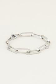 My Jewellery | armband met schakels zilver