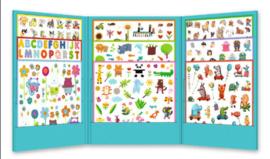 Djeco stickers   1000 stickers voor peuters en kleuters