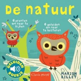 De natuur | geluidenboekje karton
