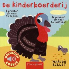 De kinderboerderij | geluidenboekje karton