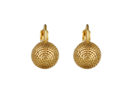 Camps & Camps goud plated globe dormeuses
