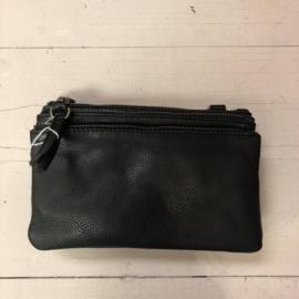 Bear Design | schoudertasje zwart