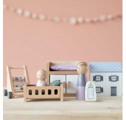 Little Dutch poppenhuis speelset | babykamer