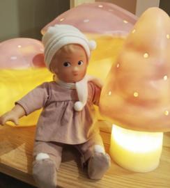 Heico lamp kleine paddenstoel | roze