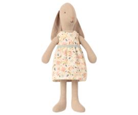 Maileg Bunny maat 1 |  konijn met bloemetjes jurk