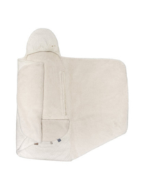 Snoozebaby wikkeldeken trendy wrapping (90x110cm) | stone white